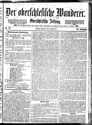 ˜Derœ Oberschlesische Wanderer vom 27.03.1895