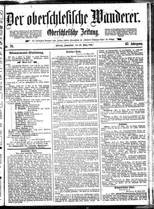 ˜Derœ Oberschlesische Wanderer vom 30.03.1895