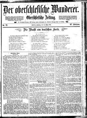 ˜Derœ Oberschlesische Wanderer vom 31.03.1895