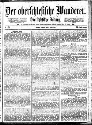 ˜Derœ Oberschlesische Wanderer vom 02.04.1895