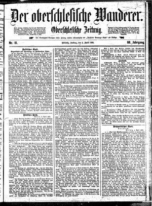˜Derœ Oberschlesische Wanderer vom 05.04.1895