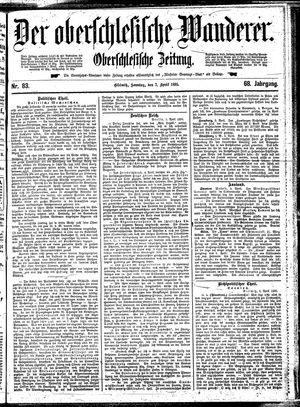 ˜Derœ Oberschlesische Wanderer vom 07.04.1895