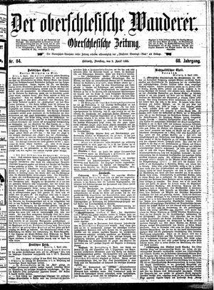 ˜Derœ Oberschlesische Wanderer vom 09.04.1895