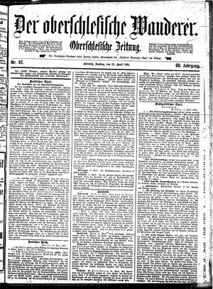 ˜Derœ Oberschlesische Wanderer vom 12.04.1895