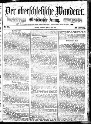 ˜Derœ Oberschlesische Wanderer vom 18.04.1895