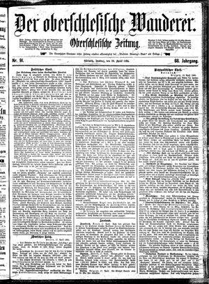 ˜Derœ Oberschlesische Wanderer vom 19.04.1895