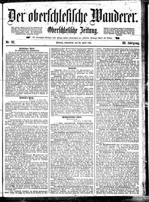 ˜Derœ Oberschlesische Wanderer vom 20.04.1895