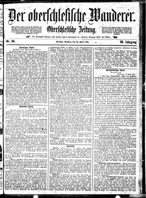 ˜Derœ Oberschlesische Wanderer vom 23.04.1895