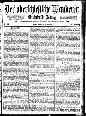 ˜Derœ Oberschlesische Wanderer vom 24.04.1895