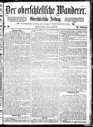 ˜Derœ Oberschlesische Wanderer vom 25.04.1895