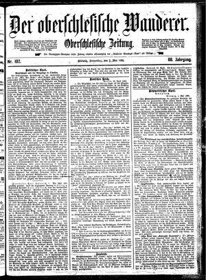 ˜Derœ Oberschlesische Wanderer vom 02.05.1895