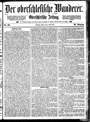 ˜Derœ Oberschlesische Wanderer vom 03.05.1895