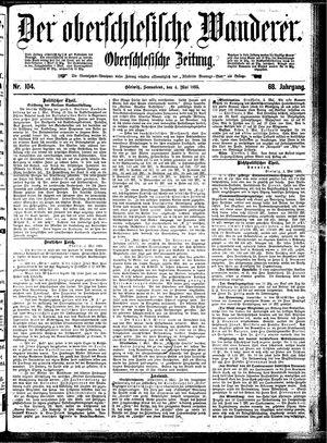 ˜Derœ Oberschlesische Wanderer vom 04.05.1895