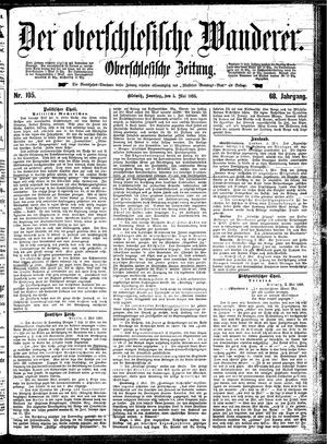 ˜Derœ Oberschlesische Wanderer vom 05.05.1895