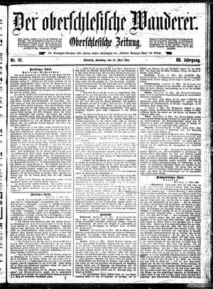 ˜Derœ Oberschlesische Wanderer vom 12.05.1895