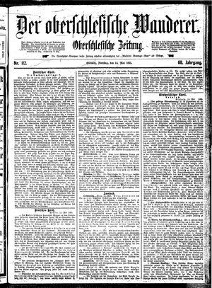 ˜Derœ Oberschlesische Wanderer vom 14.05.1895