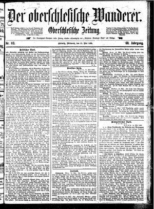 ˜Derœ Oberschlesische Wanderer vom 15.05.1895