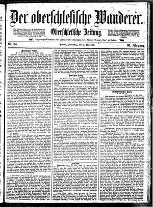 ˜Derœ Oberschlesische Wanderer vom 16.05.1895