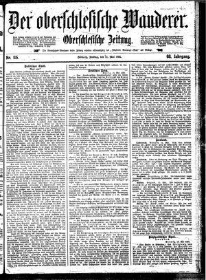 ˜Derœ Oberschlesische Wanderer vom 17.05.1895