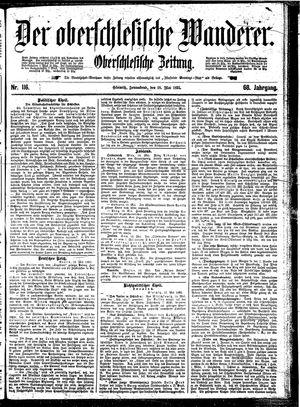 ˜Derœ Oberschlesische Wanderer vom 18.05.1895