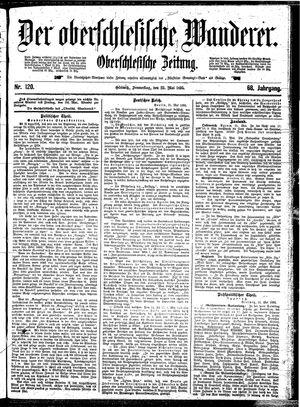˜Derœ Oberschlesische Wanderer vom 23.05.1895