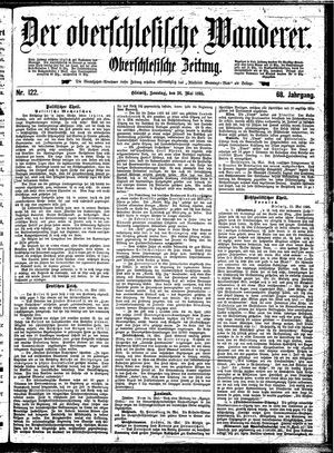˜Derœ Oberschlesische Wanderer vom 26.05.1895