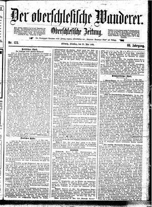 ˜Derœ Oberschlesische Wanderer vom 28.05.1895