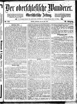 ˜Derœ Oberschlesische Wanderer vom 29.05.1895