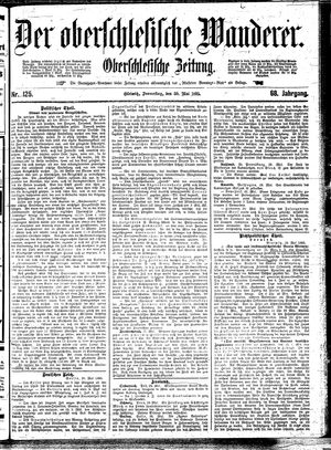 ˜Derœ Oberschlesische Wanderer vom 30.05.1895