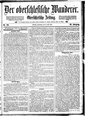 ˜Derœ Oberschlesische Wanderer vom 13.06.1895