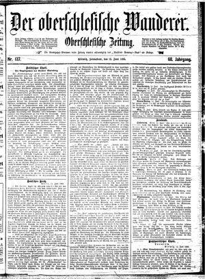 ˜Derœ Oberschlesische Wanderer vom 15.06.1895