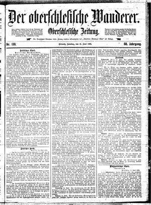 ˜Derœ Oberschlesische Wanderer vom 16.06.1895