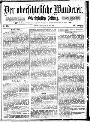 ˜Derœ Oberschlesische Wanderer vom 18.06.1895