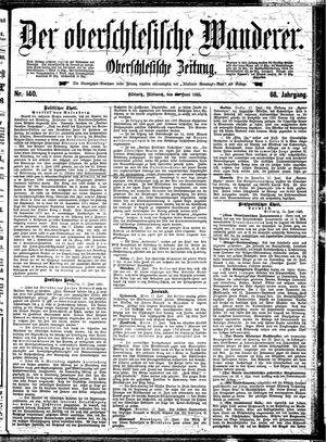 ˜Derœ Oberschlesische Wanderer vom 19.06.1895