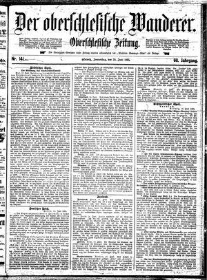 ˜Derœ Oberschlesische Wanderer vom 20.06.1895