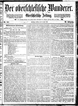 ˜Derœ Oberschlesische Wanderer vom 21.06.1895