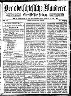 ˜Derœ Oberschlesische Wanderer vom 22.06.1895