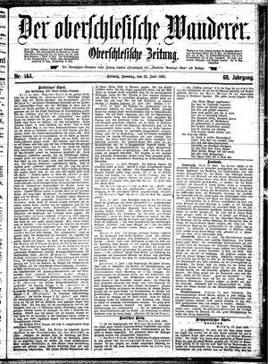 ˜Derœ Oberschlesische Wanderer vom 23.06.1895