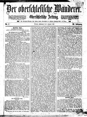 ˜Derœ Oberschlesische Wanderer vom 01.01.1896