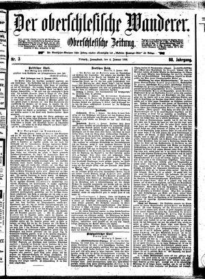 ˜Derœ Oberschlesische Wanderer vom 04.01.1896