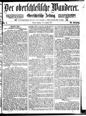 ˜Derœ Oberschlesische Wanderer vom 05.01.1896