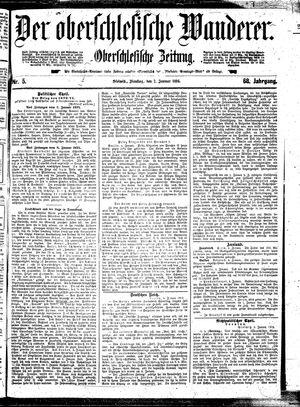 ˜Derœ Oberschlesische Wanderer vom 07.01.1896