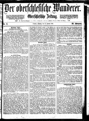 ˜Derœ Oberschlesische Wanderer vom 14.01.1896