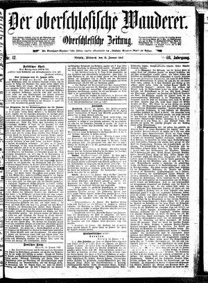 ˜Derœ Oberschlesische Wanderer vom 15.01.1896