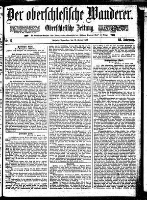˜Derœ Oberschlesische Wanderer vom 16.01.1896