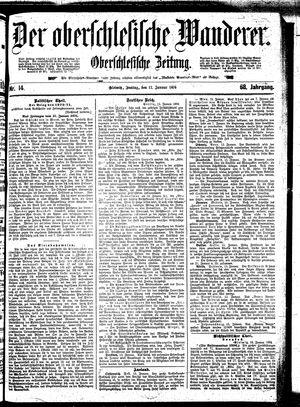 ˜Derœ Oberschlesische Wanderer vom 17.01.1896