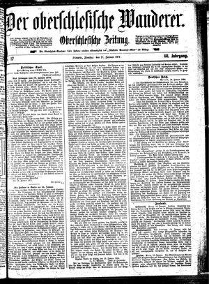 ˜Derœ Oberschlesische Wanderer vom 21.01.1896