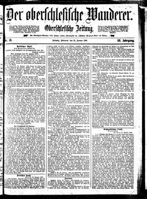 ˜Derœ Oberschlesische Wanderer on Jan 22, 1896