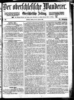 ˜Derœ Oberschlesische Wanderer vom 24.01.1896
