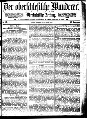 ˜Derœ Oberschlesische Wanderer vom 01.02.1896